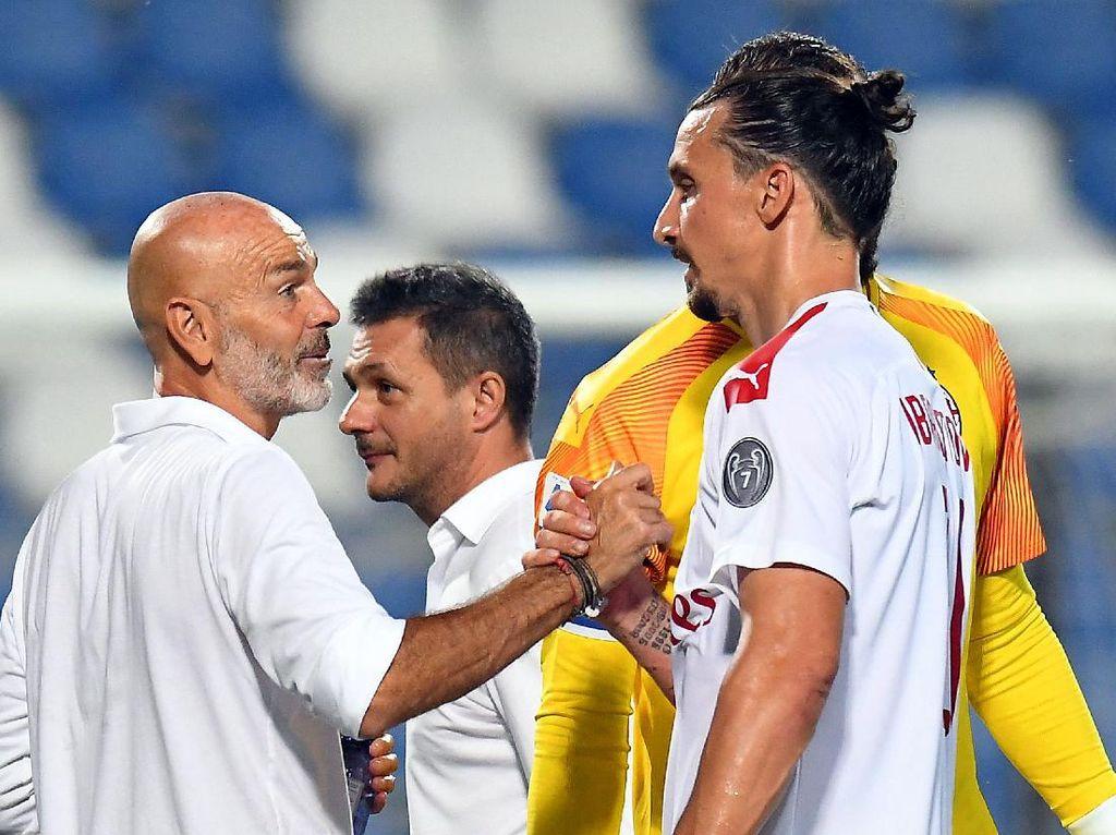 Zlatan Ibrahimovic Mengangkat Performa AC Milan