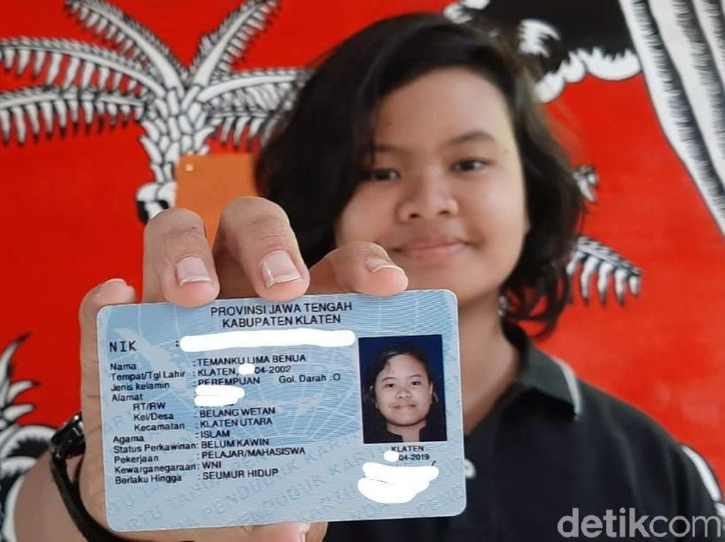 Temanku Lima Benua, Nama Unik Gadis Asal Klaten