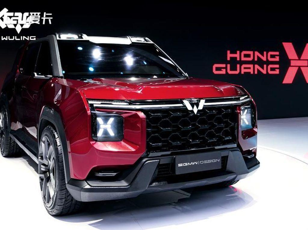 Nih Penampakan Mobil SUV Konsep Baru Wuling, Macho Abis!