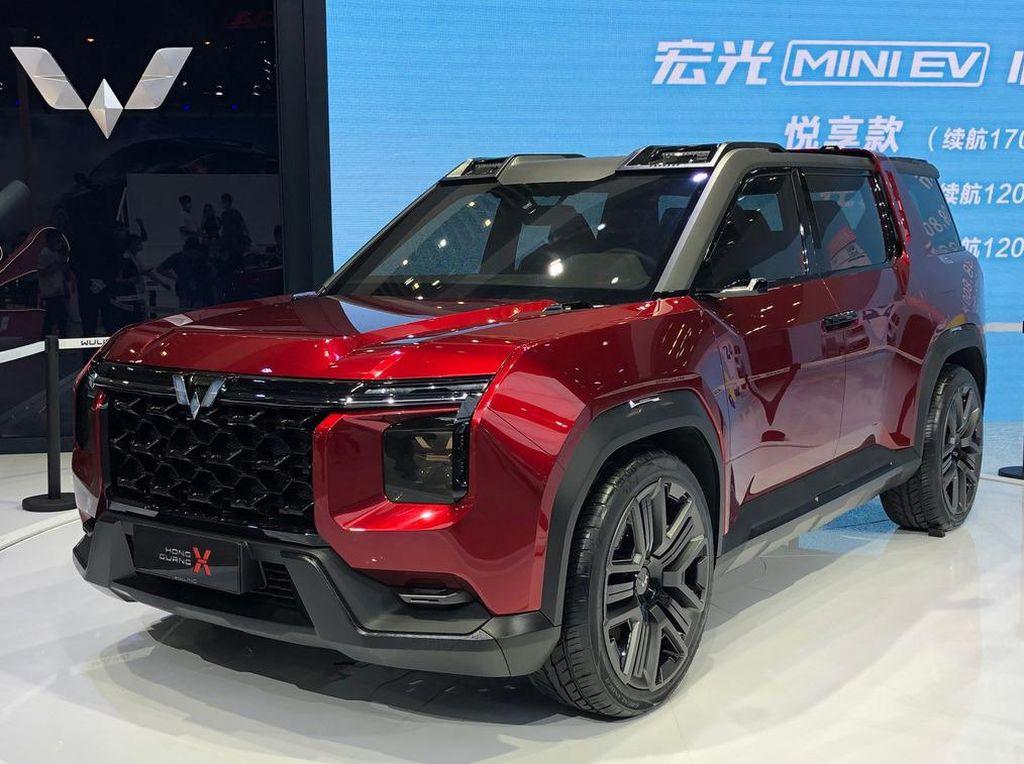 Melihat Lebih Dekat Mobil SUV Konsep Wuling Hongguang X