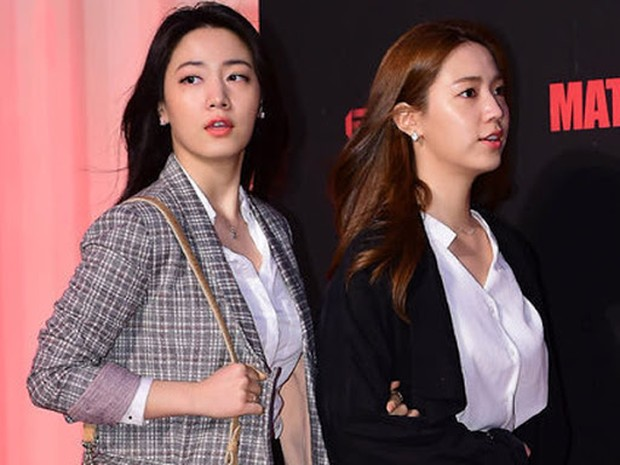 Hwayoung dan Hyohyoung diacara presscon