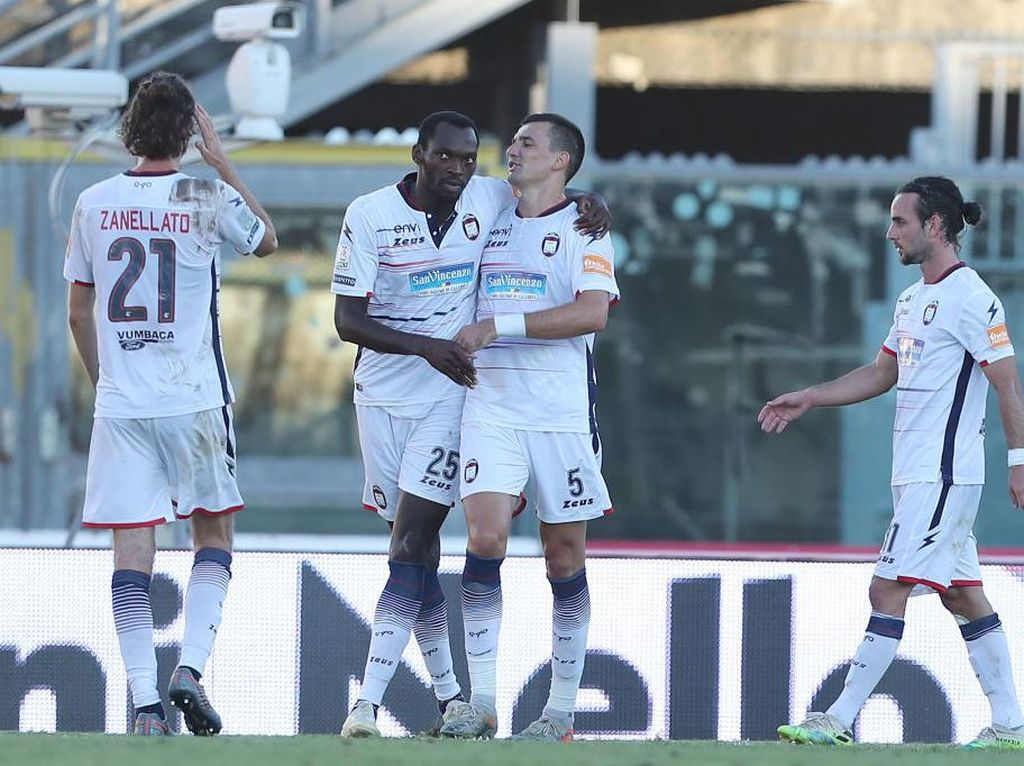 Crotone, Tim Kedua Promosi ke Liga Italia 2020/2021