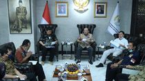 Temui Airlangga, DPD RI Beri Pendapat soal Sentralisasi di RUU Ciptaker