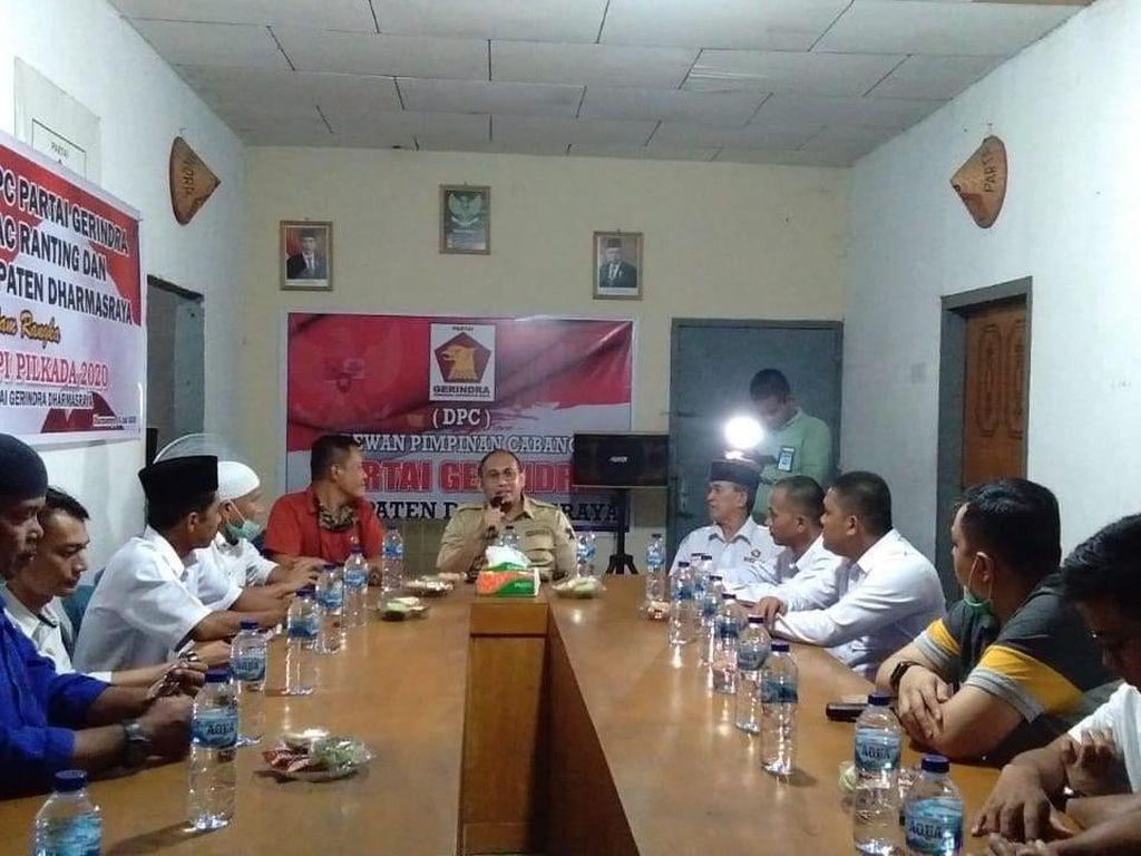 Gerindra Putuskan Jadi Lawan PDIP di Pilbup Dharmasraya Sumbar 2020