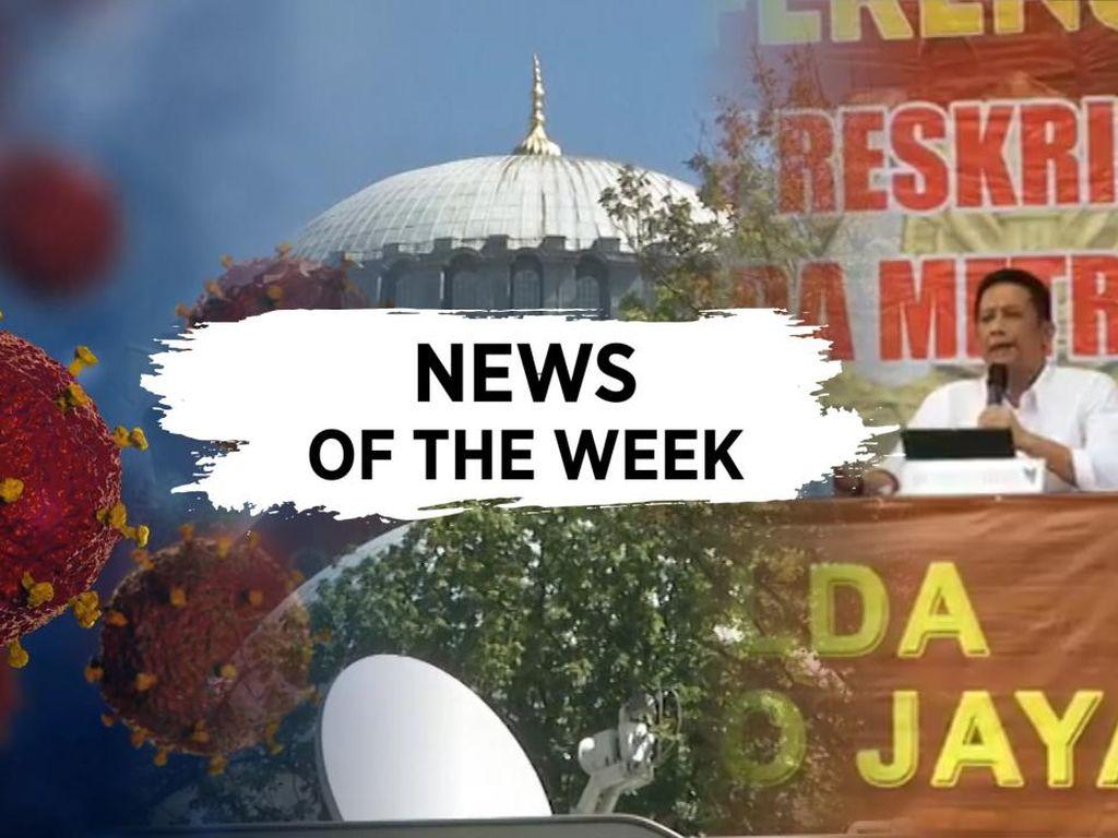 News Of The Week: Corona di RI Tembus 97 Ribu, Terungkapnya Kematian Yodi Prabowo