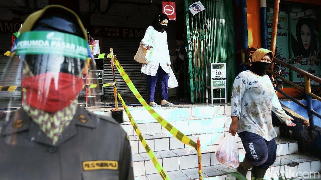 Potret Penerapan Protokol Kesehatan di Pasar Rawamangun