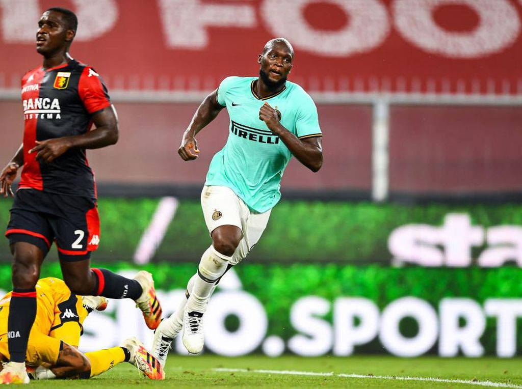 Gol ala American Football Romelu Lukaku