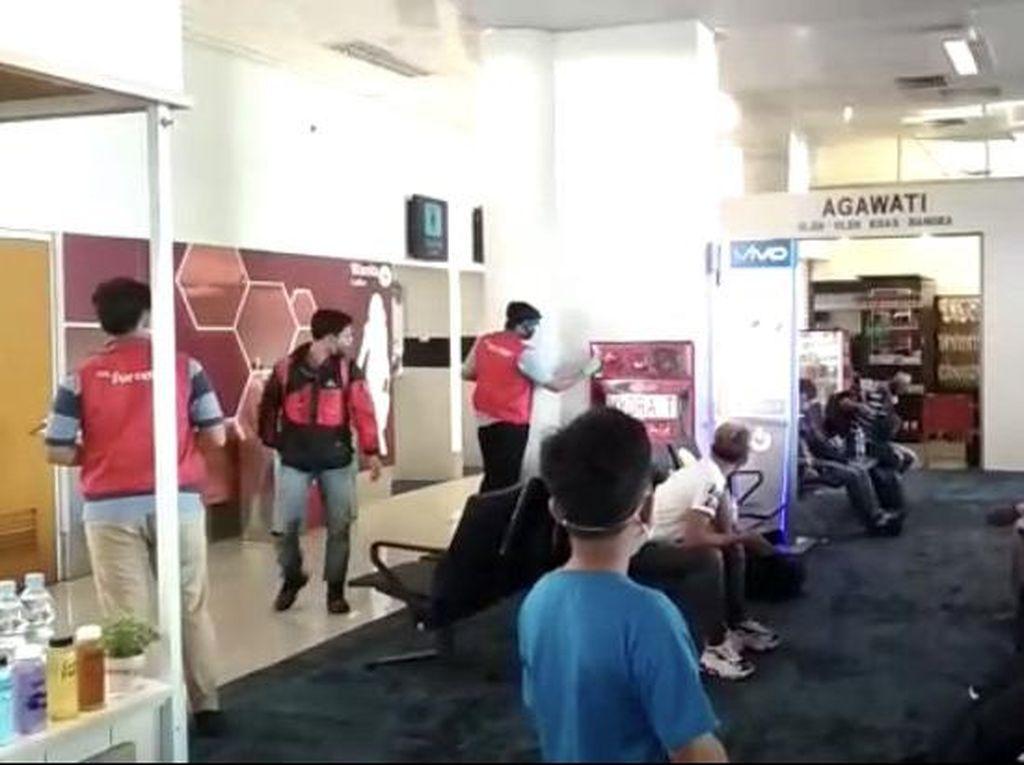 Alarm Smoke Detector Bandara Depati Amir Sempat Berdering-dering, Ada Apa?