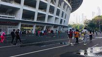 Alasan Warga Rela Antre Panjang Masuk Ring Road GBK: Bisa Joging Sambil Foto