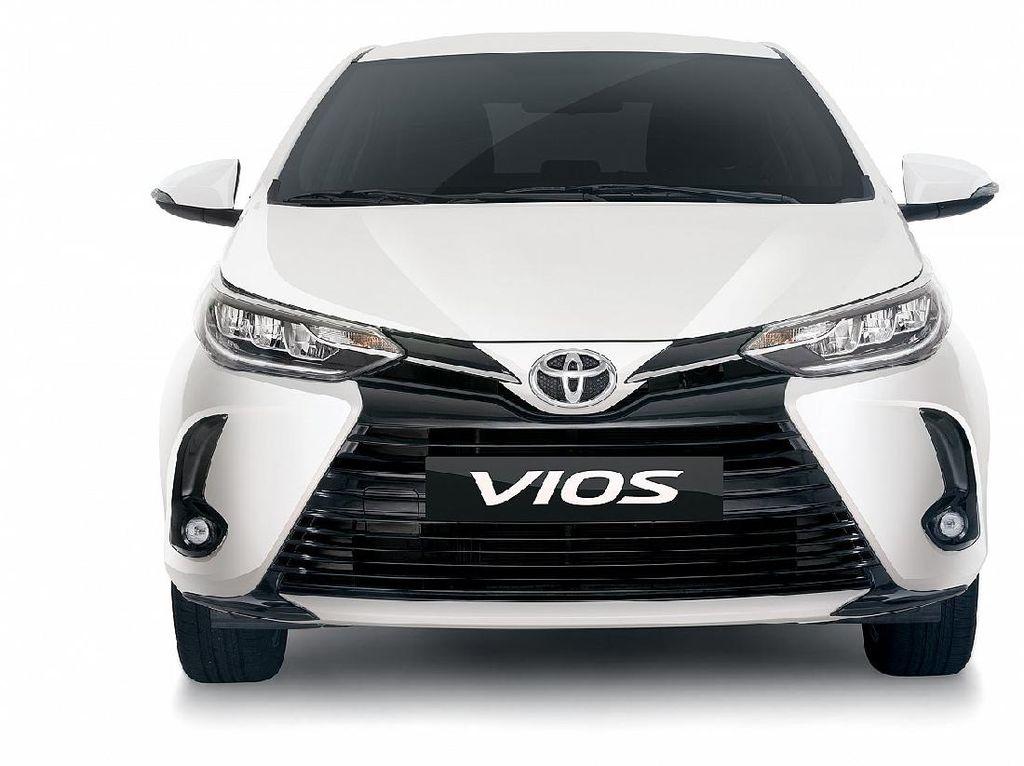 Toyota Luncurkan Vios Baru, Tampangnya Terinspirasi dari Corolla Altis