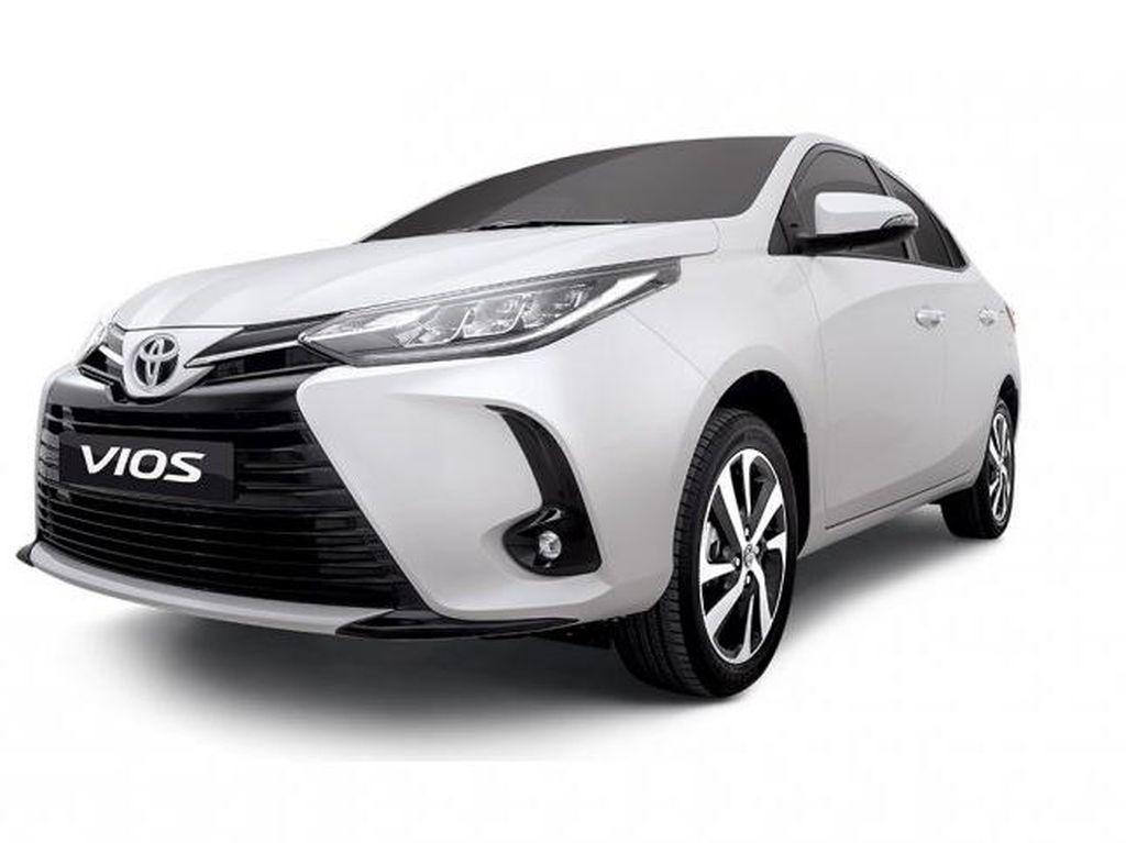 Tampang Toyota Vios yang Terinspirasi dari Corolla Altis