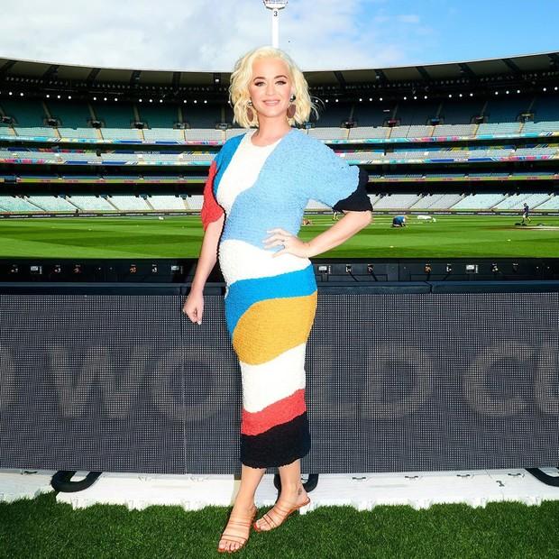 Potret Cantik Katy Perry Selama Kehamilannya