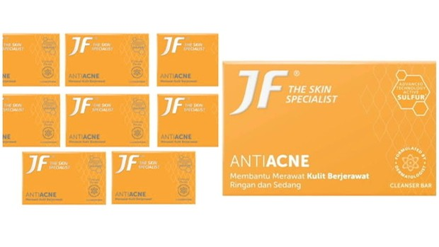 JF Anti Acne Cleansing Bar/ Foto: Femaledaily.com