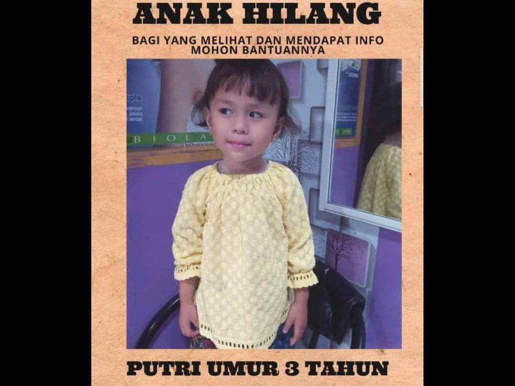 Putri Ramadani Bocah Korban Penculikan Ditemukan di Banten!