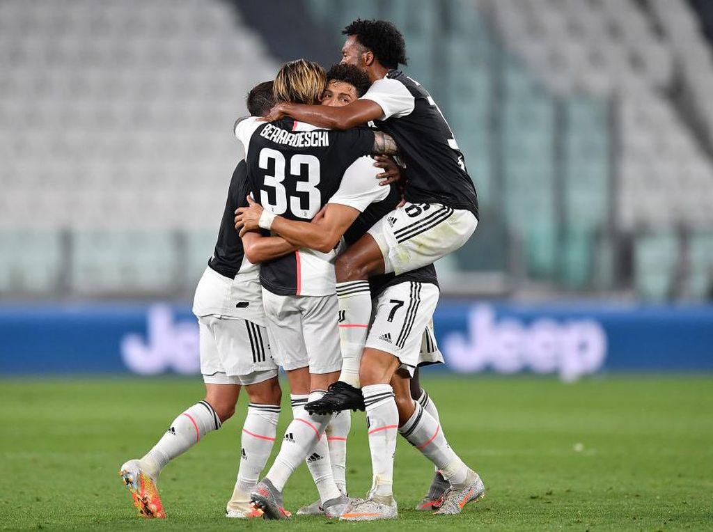 Juventus Juara karena Menderita