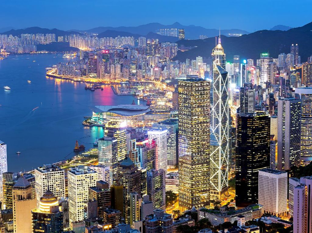 Ekonomi Hong Kong Diproyeksi Anjlok hingga 8%