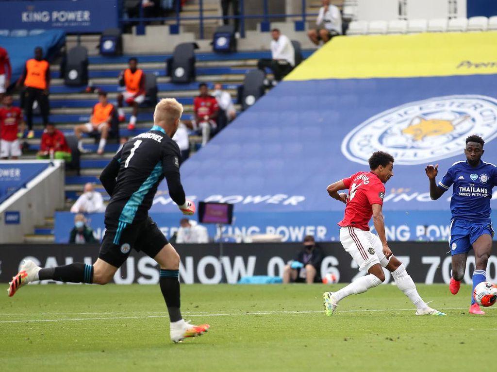 Leicester Vs MU: Ada yang Batal Cuan gegara Jesse Lingard