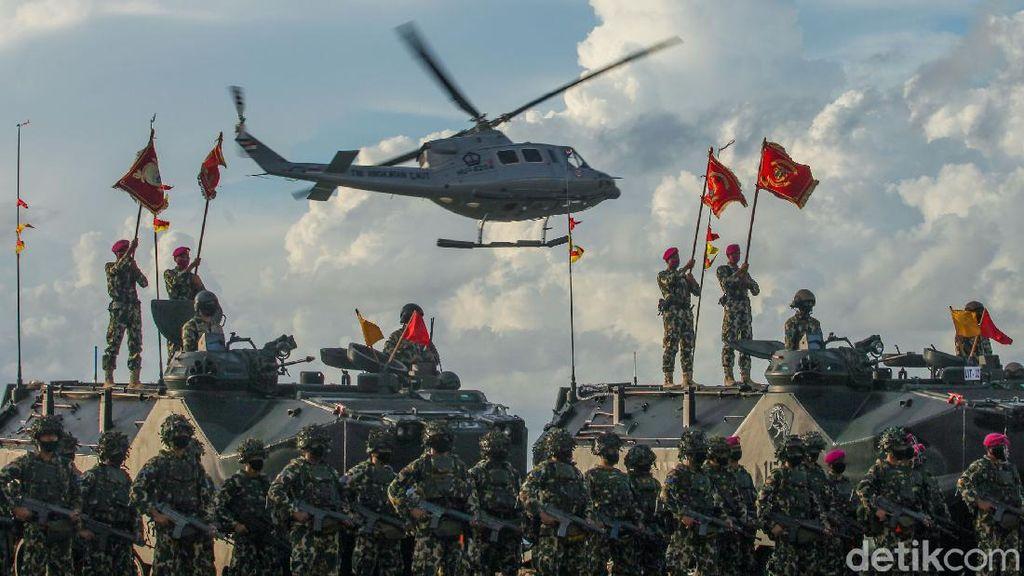 Melihat Latihan Perang TNI AL di Pulau Dabo Singkep