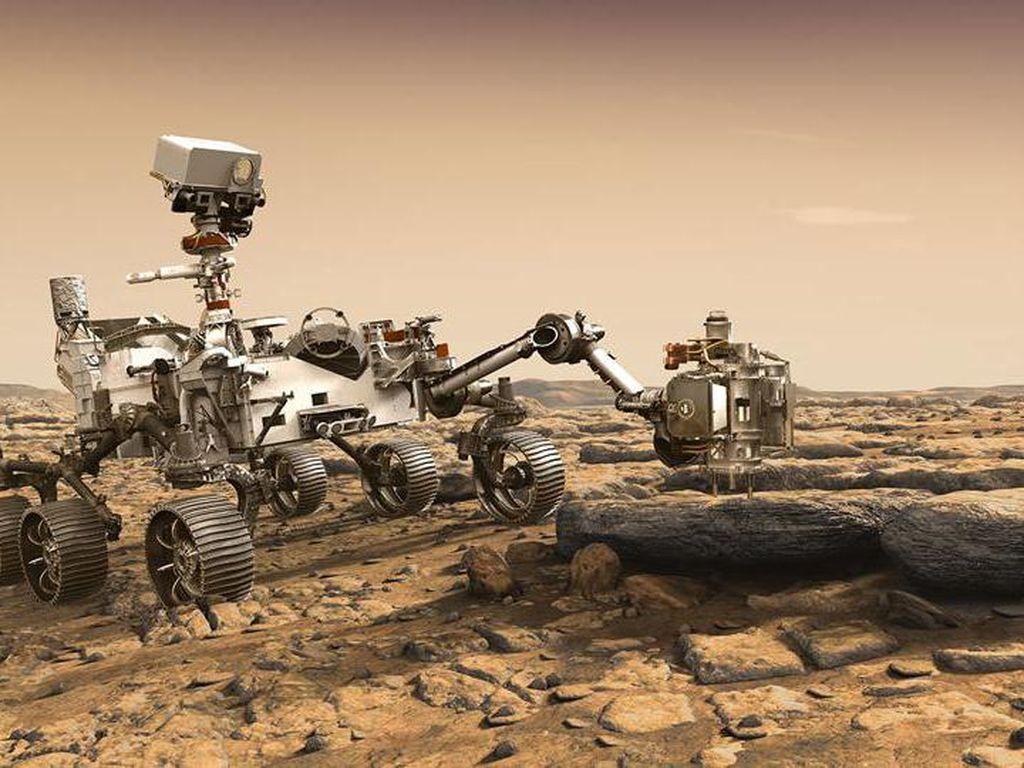 Misi Rp 35 Triliun Demi Cari Bukti Kehidupan di Mars