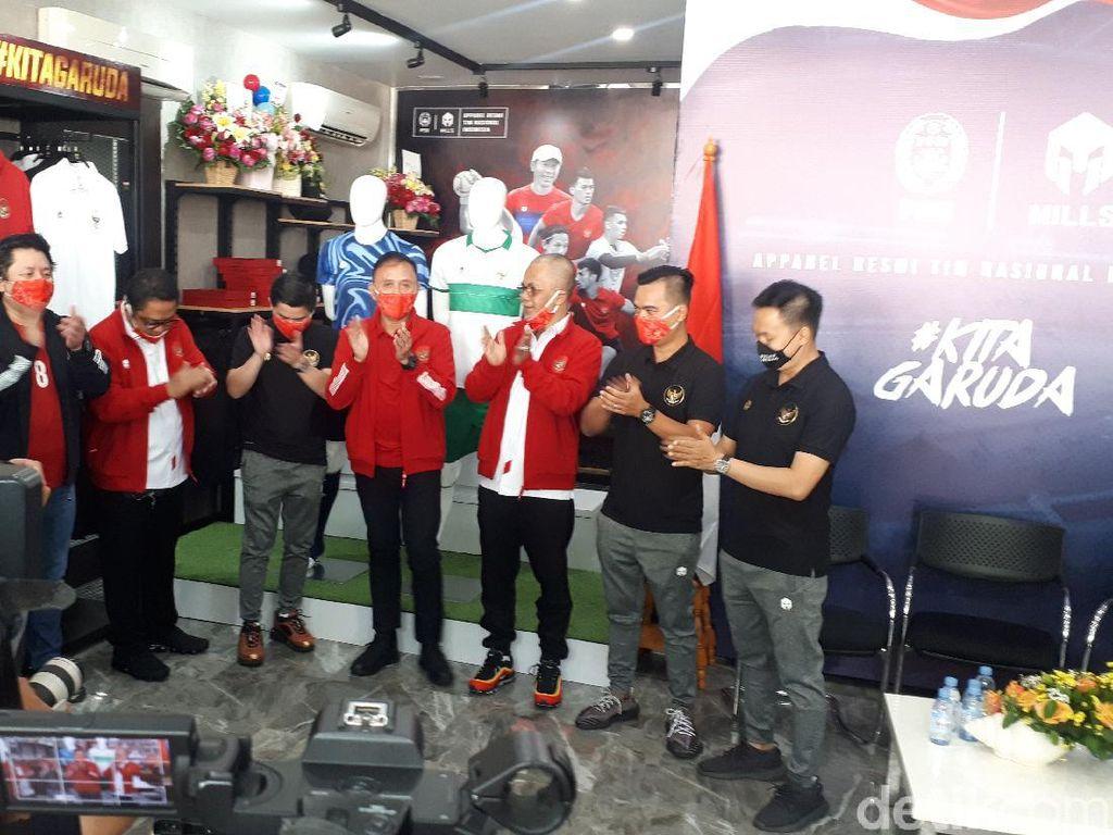 Jersey Tandang Timnas Indonesia Resmi Diluncurkan