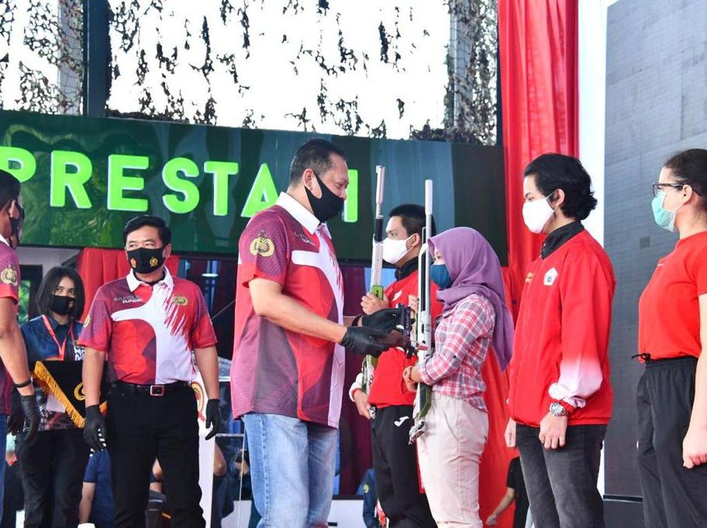 Kejuaran Menembak Kapolri Cup, Ketua MPR: Bisa Jadi Sarana Pelepas Penat