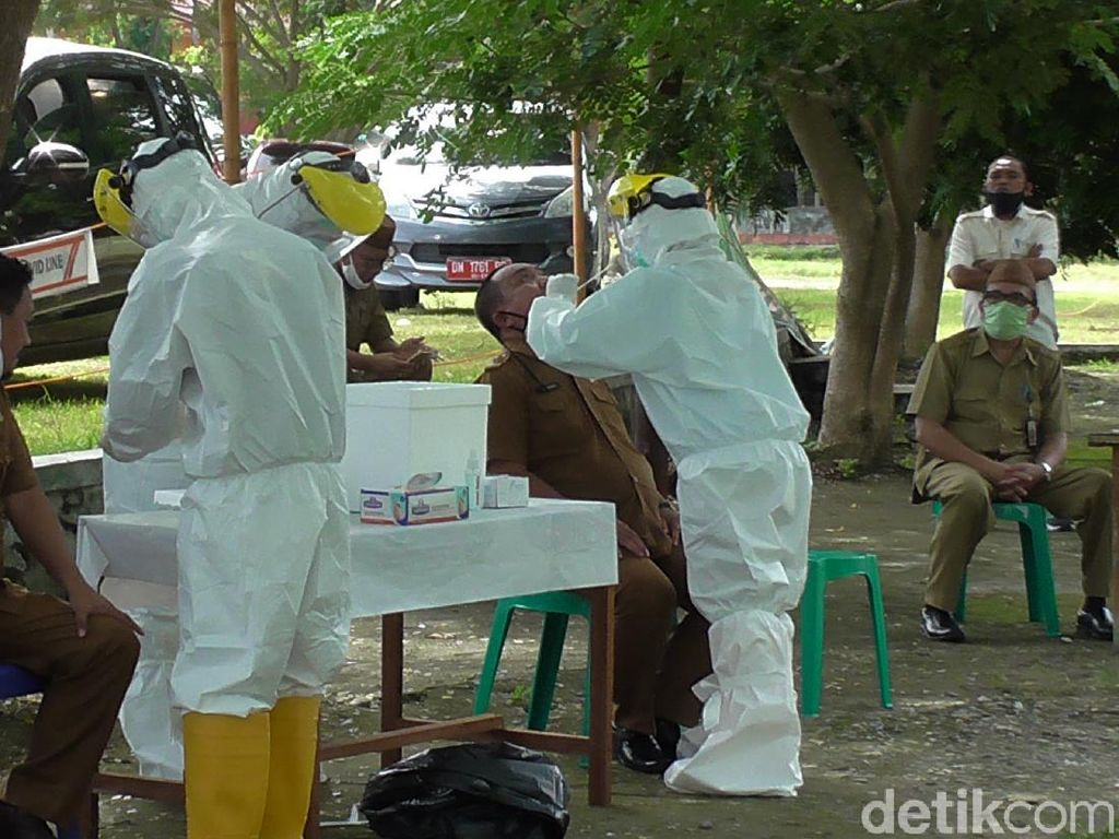 Satu Pejabat di Pemkab Gorontalo Positif Covid, 221 PNS Tes Swab