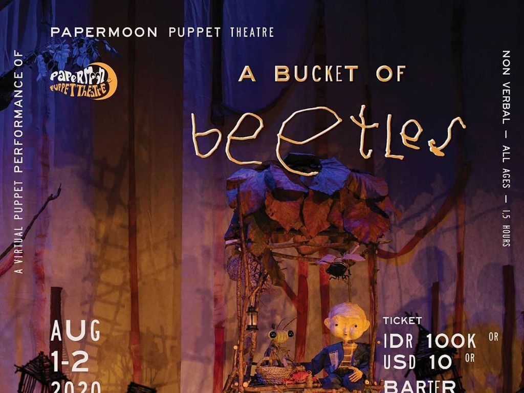 Papermoon Puppet Theatre Hadirkan Pertunjukan Virtual Awal Agustus