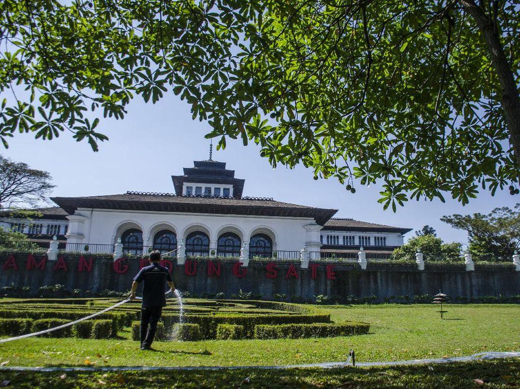 Ratusan Orang di Gedung Sate Positif Corona, Pegawai WFH hingga 9 Juli
