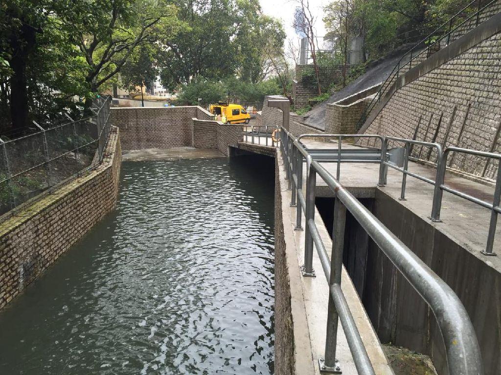Sistem Anti-Banjir Penyelamat Hong Kong Senilai Rp 55 Triliun