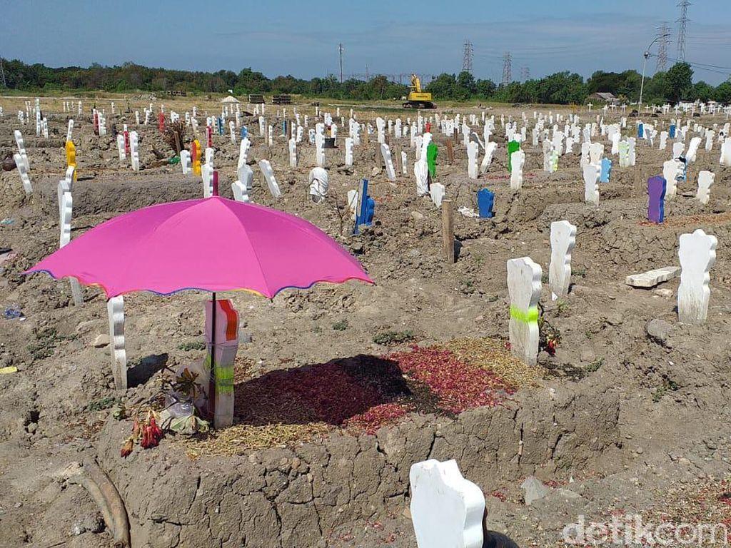Kematian Tertinggi COVID-19 di Surabaya, Rata-rata 13 Jenazah Dimakamkan/Hari