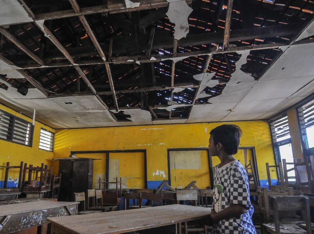 Waduh, Bangunan Sekolah di Bekasi Rusak Sejak 7 Bulan Lalu