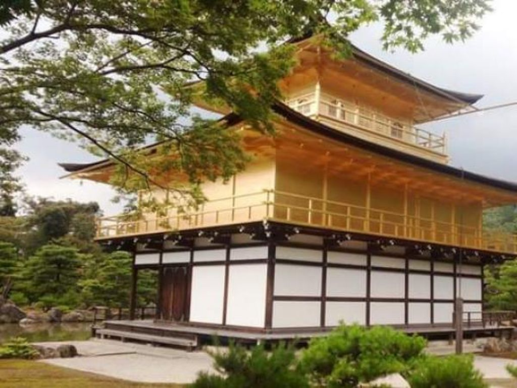 Deretan Foto Kinkaku Ji, Kuil Eksotis di Kyoto