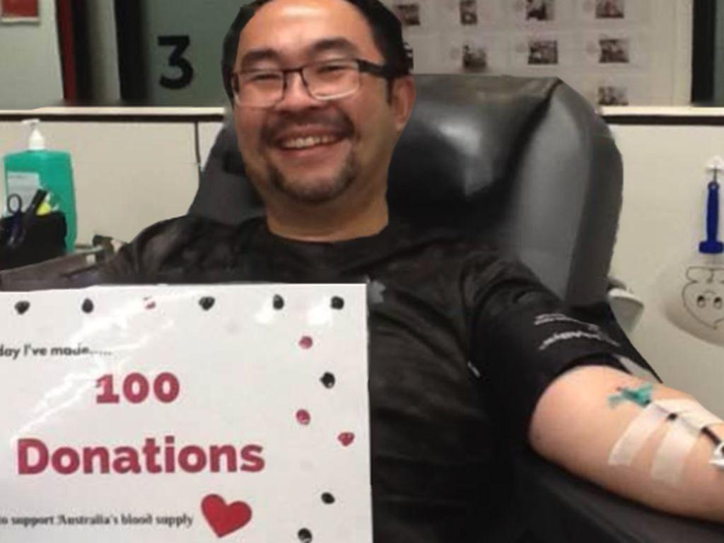 Eko Ariyanto Sudah Donor Darah 100 Kali di Australia, Rutin Dua Minggu Sekali