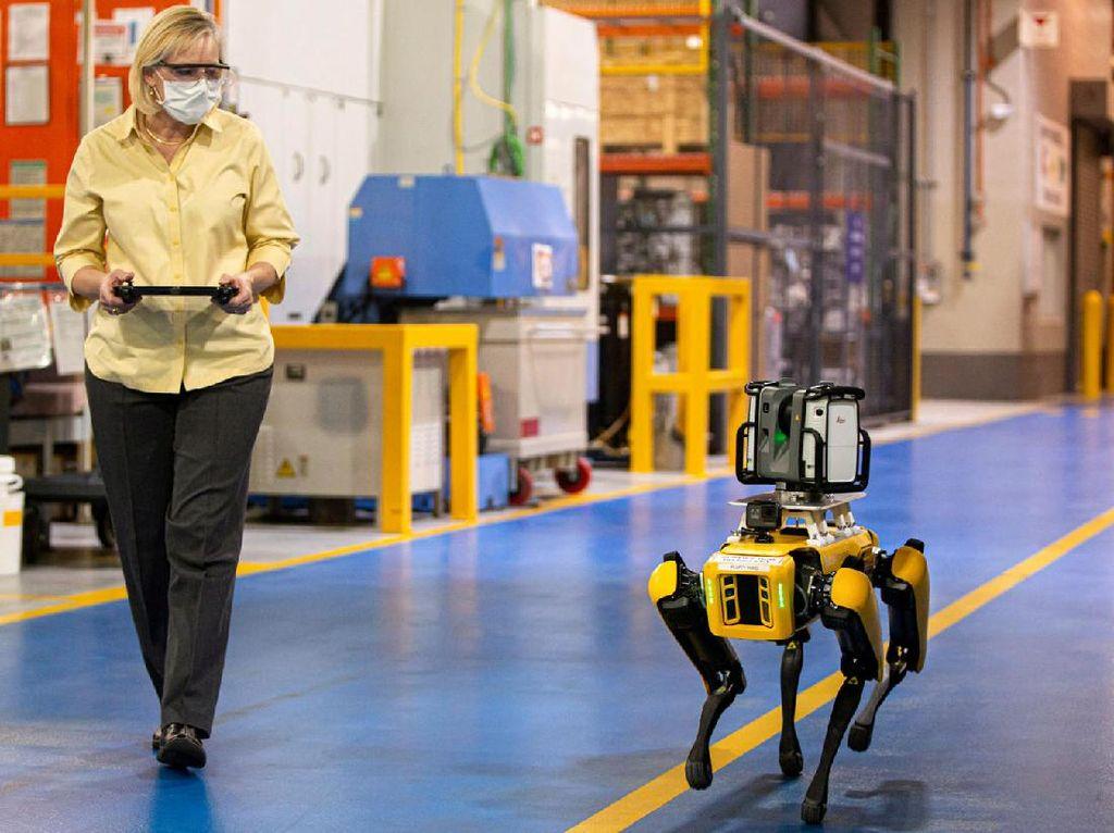 Ford Mulai Pekerjakan Tenaga Robot di Pabrik Mobil