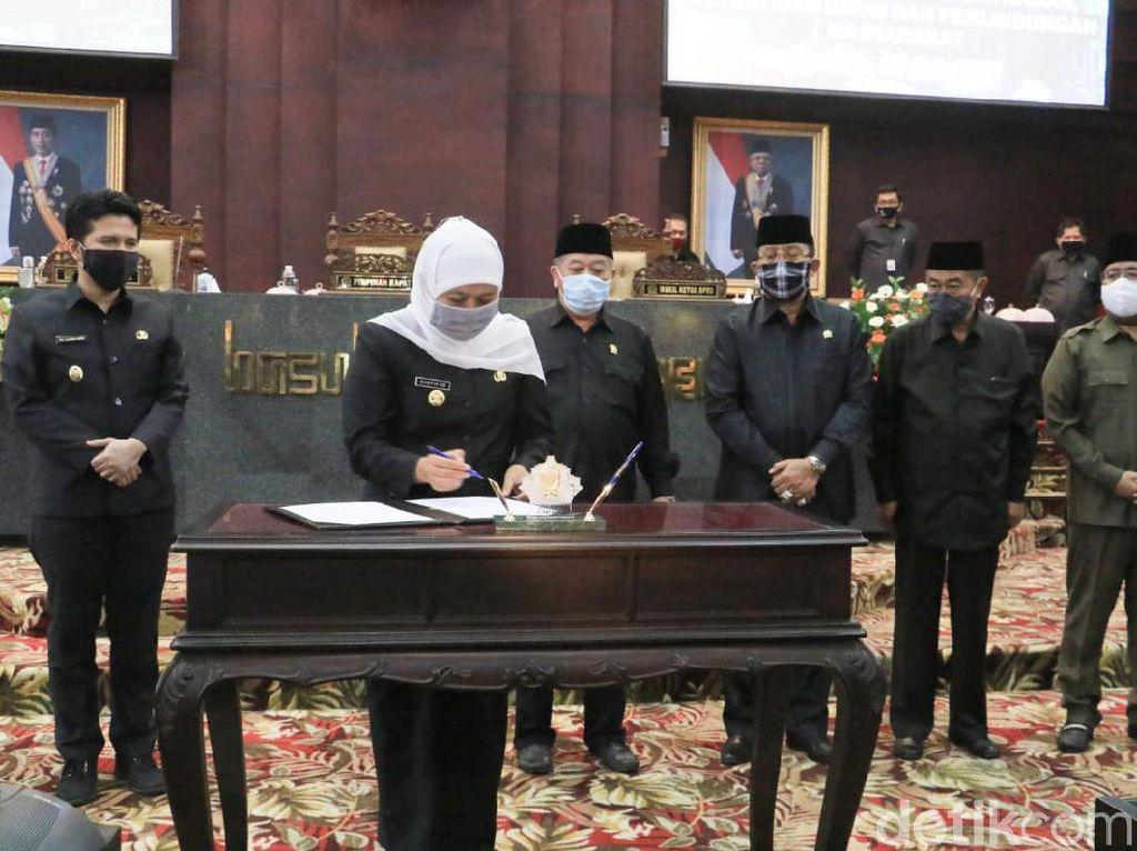 DPRD Jatim Dorong Gubernur Tindaklanjuti Perda Trantibum dengan Pergub