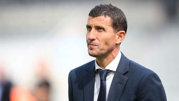 NEWCASTLE UPON TYNE, ENGLAND - AUGUST 31: Watford manager Javi Gracia is seen prior to the Premier League match between Newcastle United and Watford FC at St. James Park on August 31, 2019 in Newcastle upon Tyne, United Kingdom. (Photo by Ian MacNicol/Getty Images)