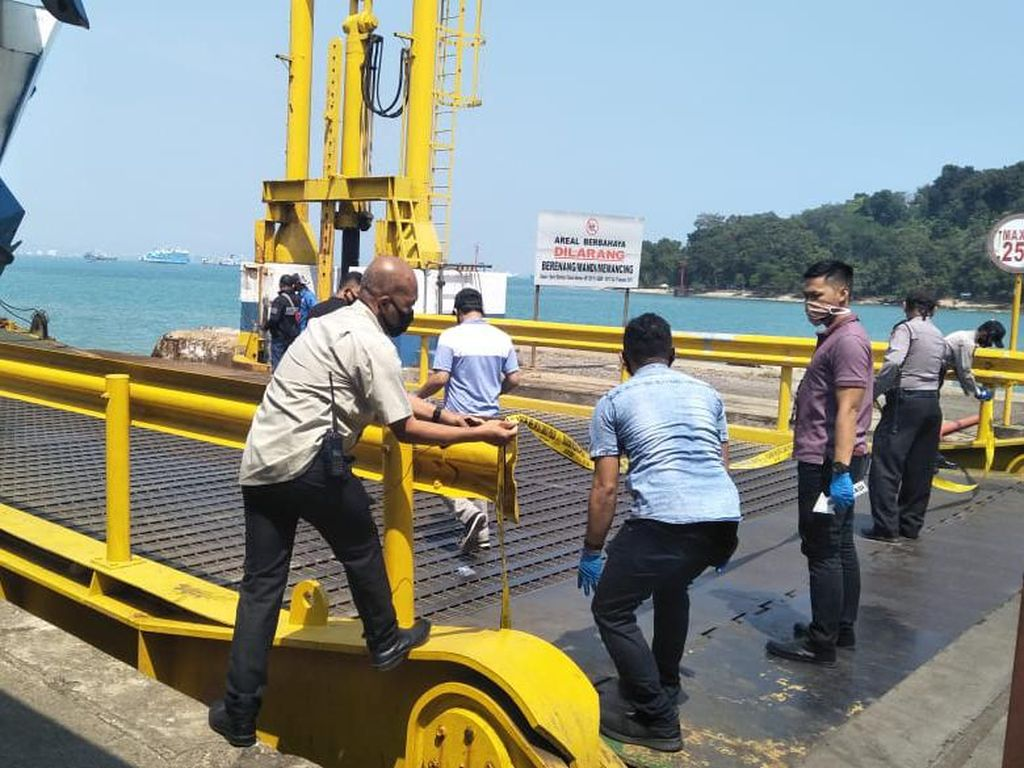 Anak Magang di Kapal Feri Pelabuhan Merak Tewas Terkena Tali