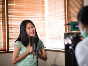 Maisha Kanna Belajar Rekaman Jarak Jauh Selama PSBB