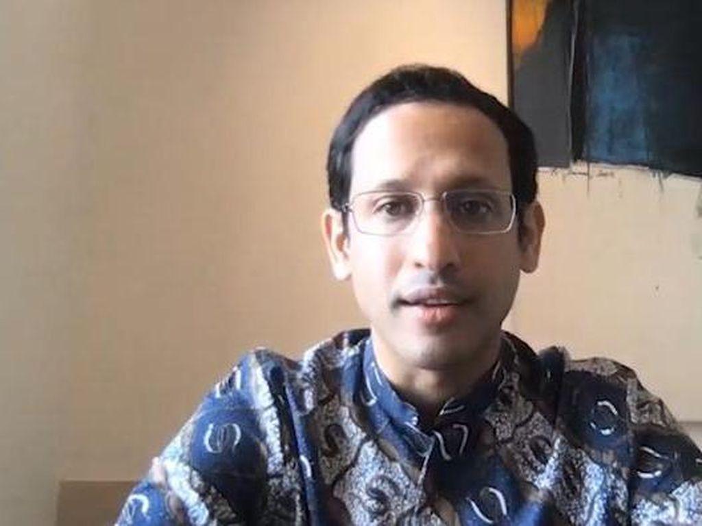 Nadiem Makarim Siapkan Kurikulum Darurat untuk Belajar dari Rumah