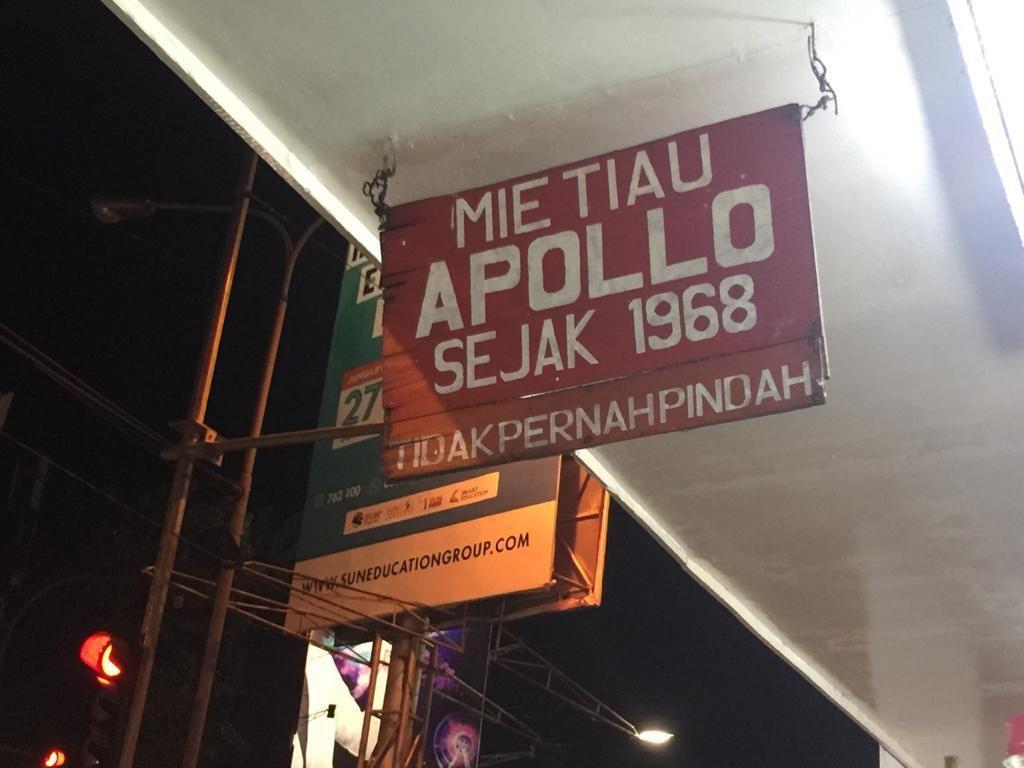 Mie Tiau Apollo dan Polo, Kuliner Legendaris yang Berseteru Puluhan Tahun