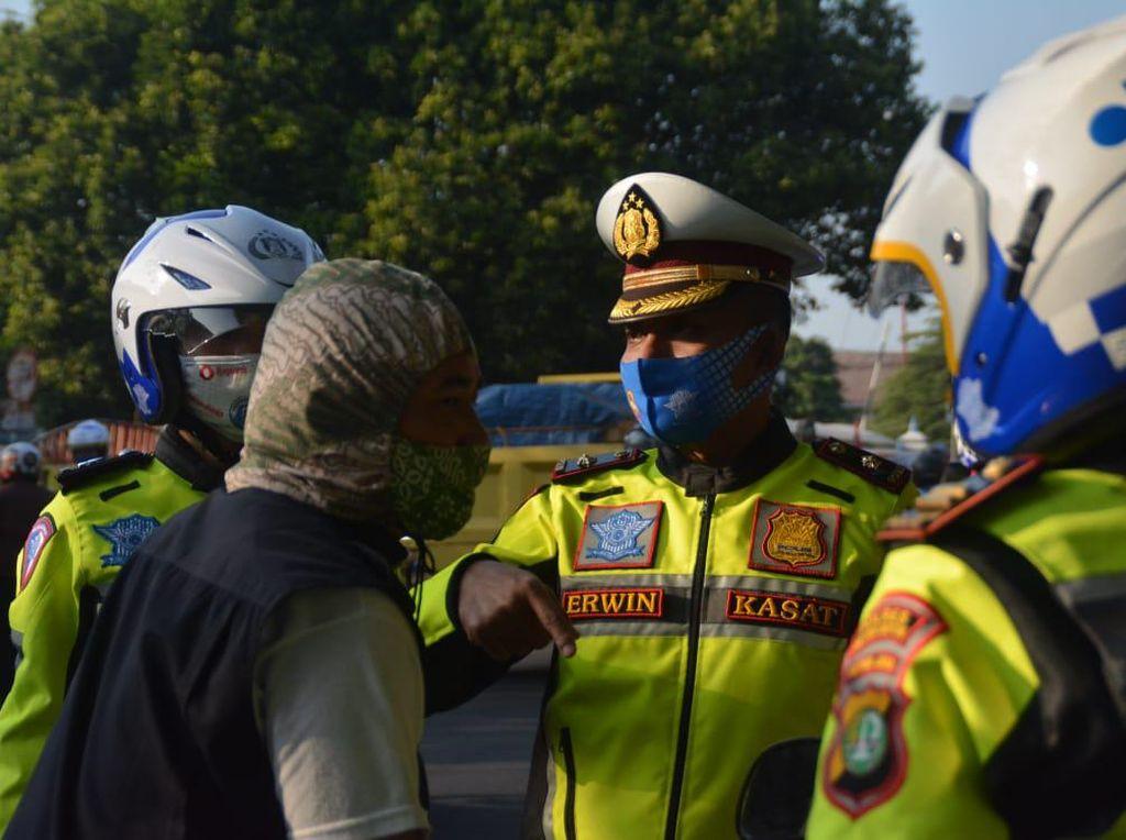 Hari ke-5 Operasi Patuh di Depok, 179 Pelanggar Lalin Ditilang