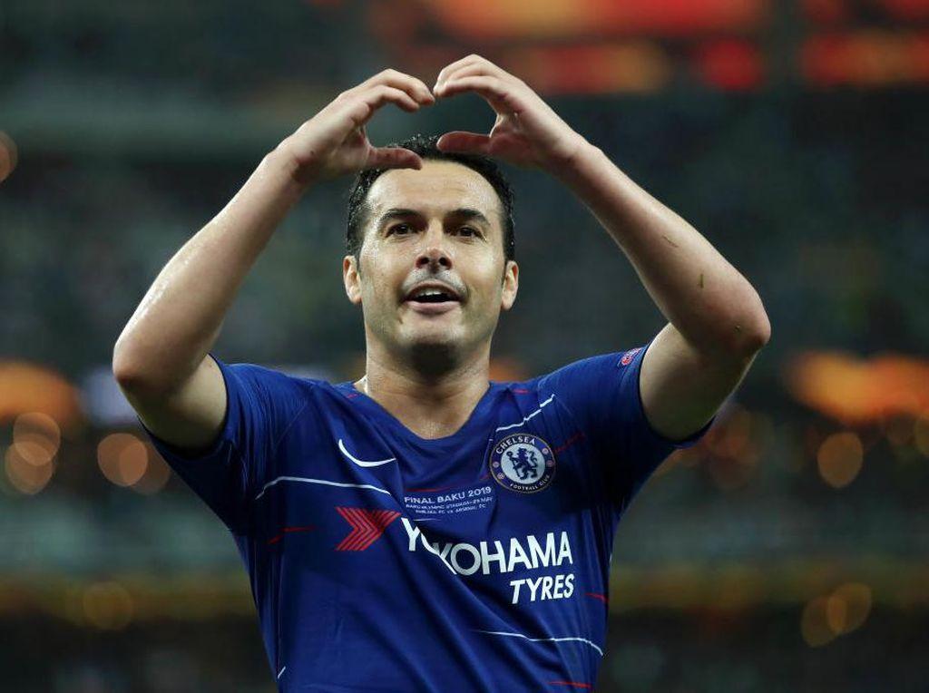 Pesan Perpisahan Pedro buat Chelsea
