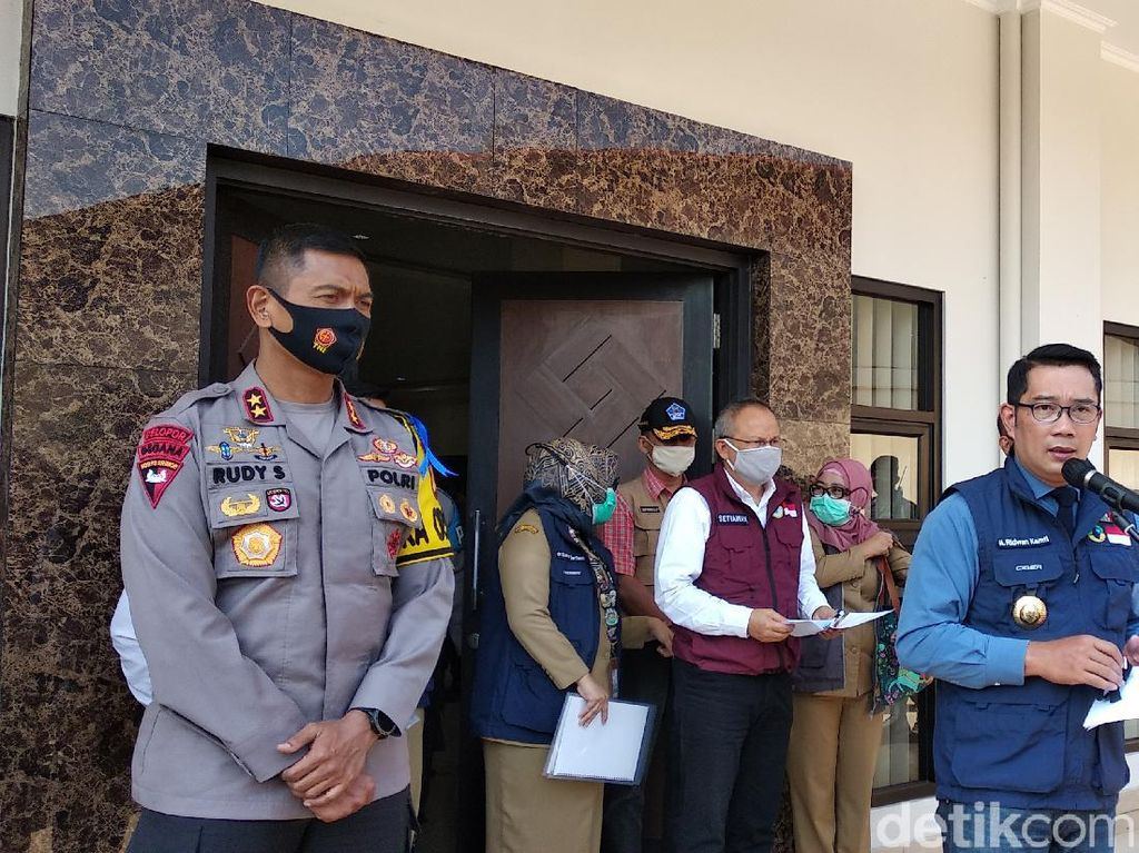Ridwan Kamil: Sanksi Denda Masker Berlaku Pekan Depan