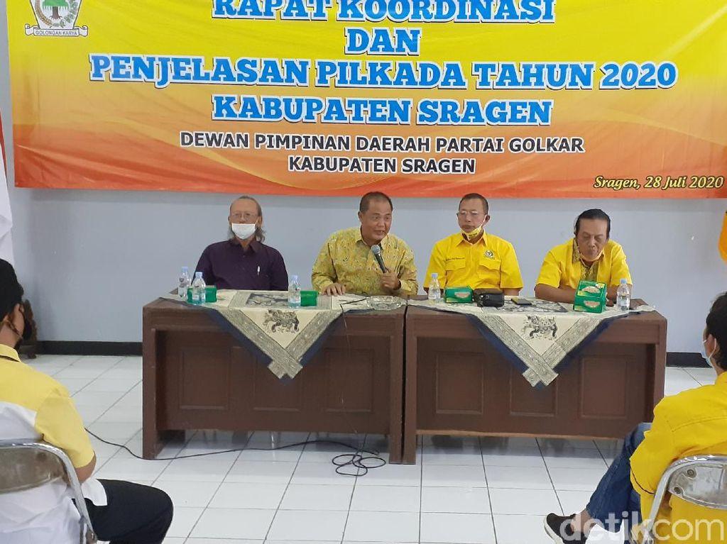 Golkar Gabung PDIP Usung Petahana di Pilkada Sragen
