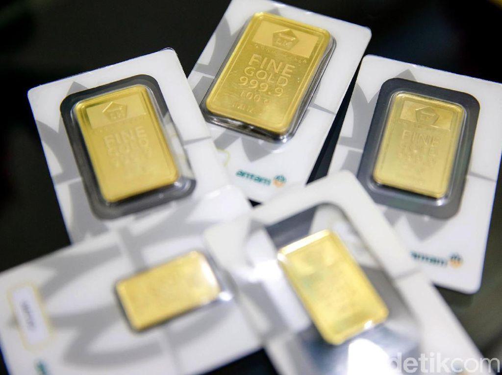 Harga Emas Turun, Lebih Murah Beli di Antam Atau Pegadaian?