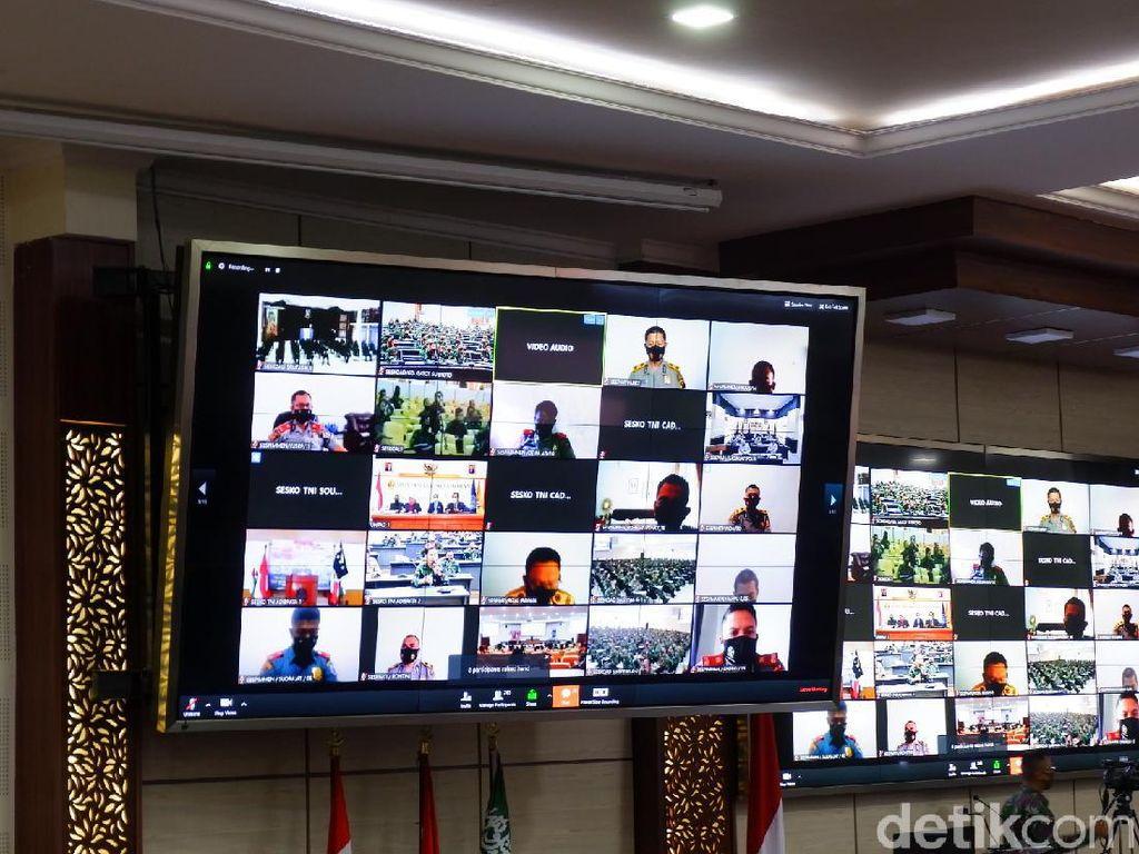 Lebih dari 1.500 TNI Polri Ikuti PKB Juang Virtual