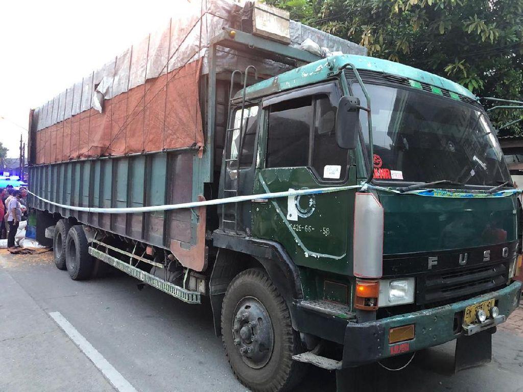 BNN Sita 1 Truk Jagung Isi Sabu di Tangerang, 6 Orang Ditangkap