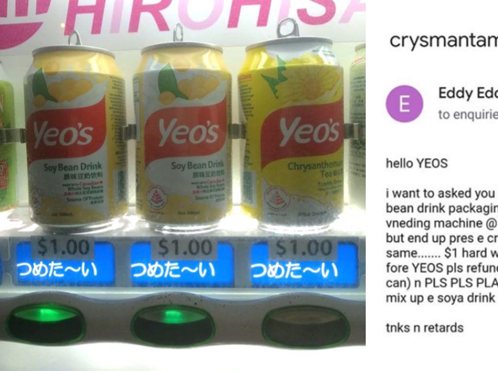 Netizen Ini Tuntut Kerugian Rp 10 Ribu karena Keliru Beli Minuman Kaleng