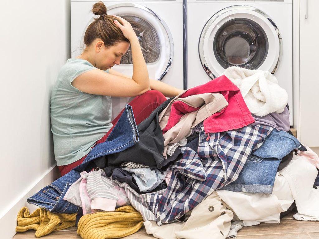 Viral Emak-Emak Nggak Urus Cucian Selama 2 Bulan Lockdown, Ini yang Terjadi