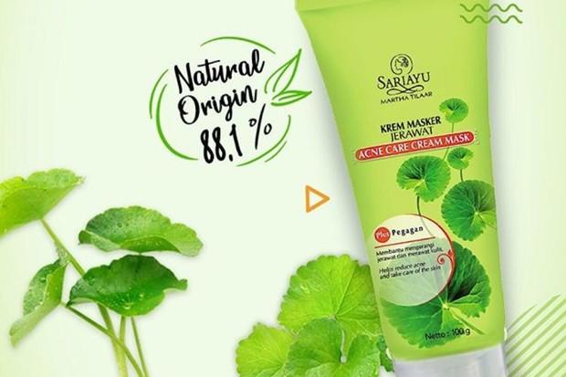 salah satu rekomendasi skincare berbahan centella asiatica yang sayang dilewatkan adalah Sariayu Krem Masker Jerawat